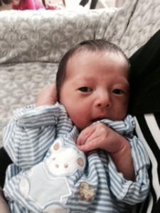熊本で余震と本震の間に誕生した会員のお孫さん